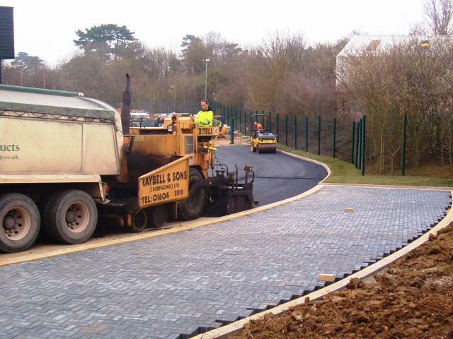 block paving pathway by raybell and sons