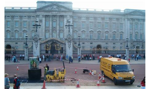 Tarmac Services at Buckingham Palace by Raybell and Sons
