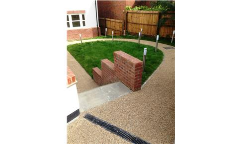 Resin Bound Gravel Garden Path