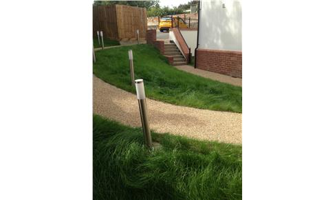 Resin Bound Gravel Footpath