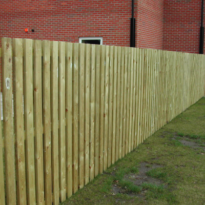 wood fencing services